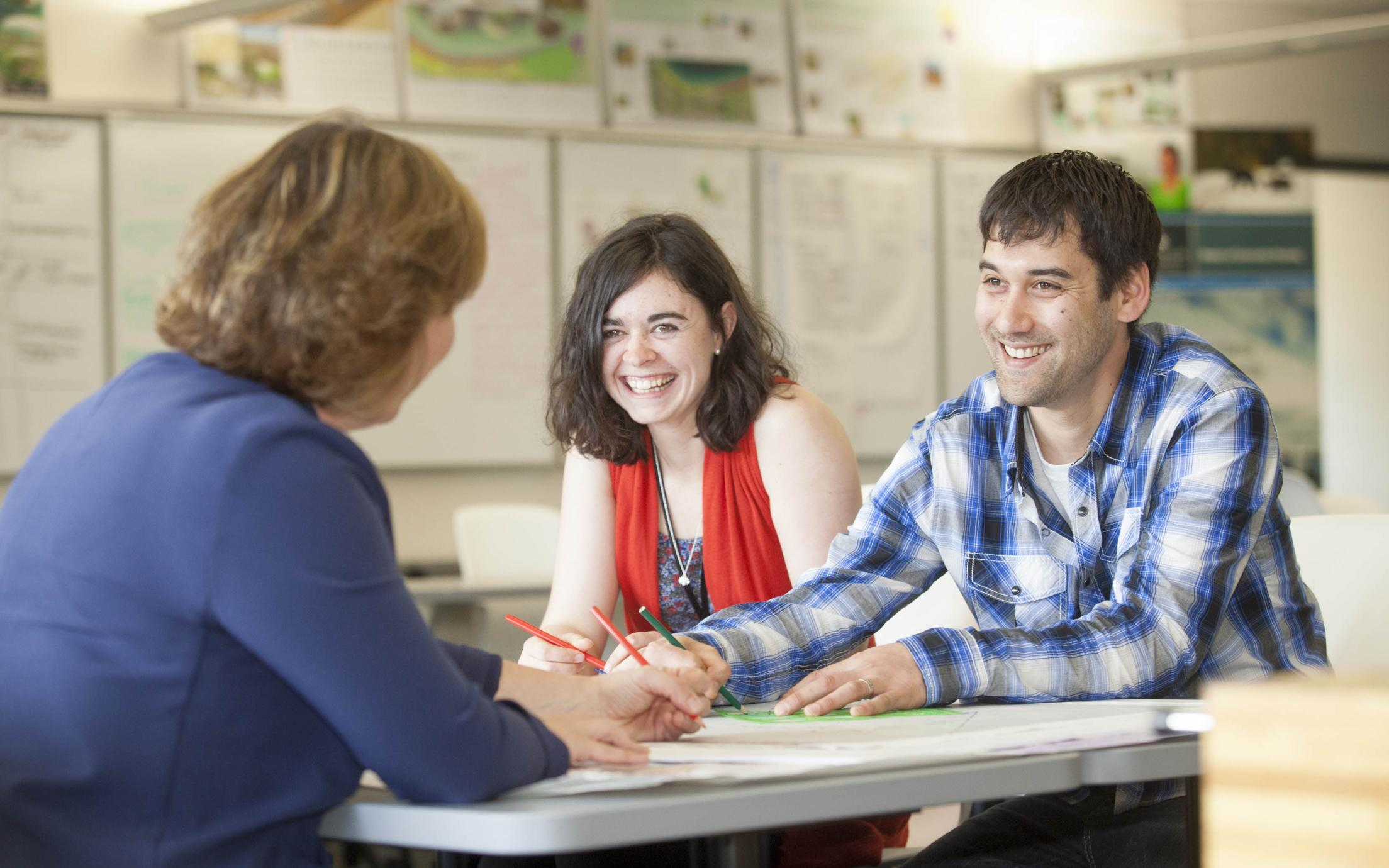 Master of Community Planning students on their journey to pursue a career an urban planner