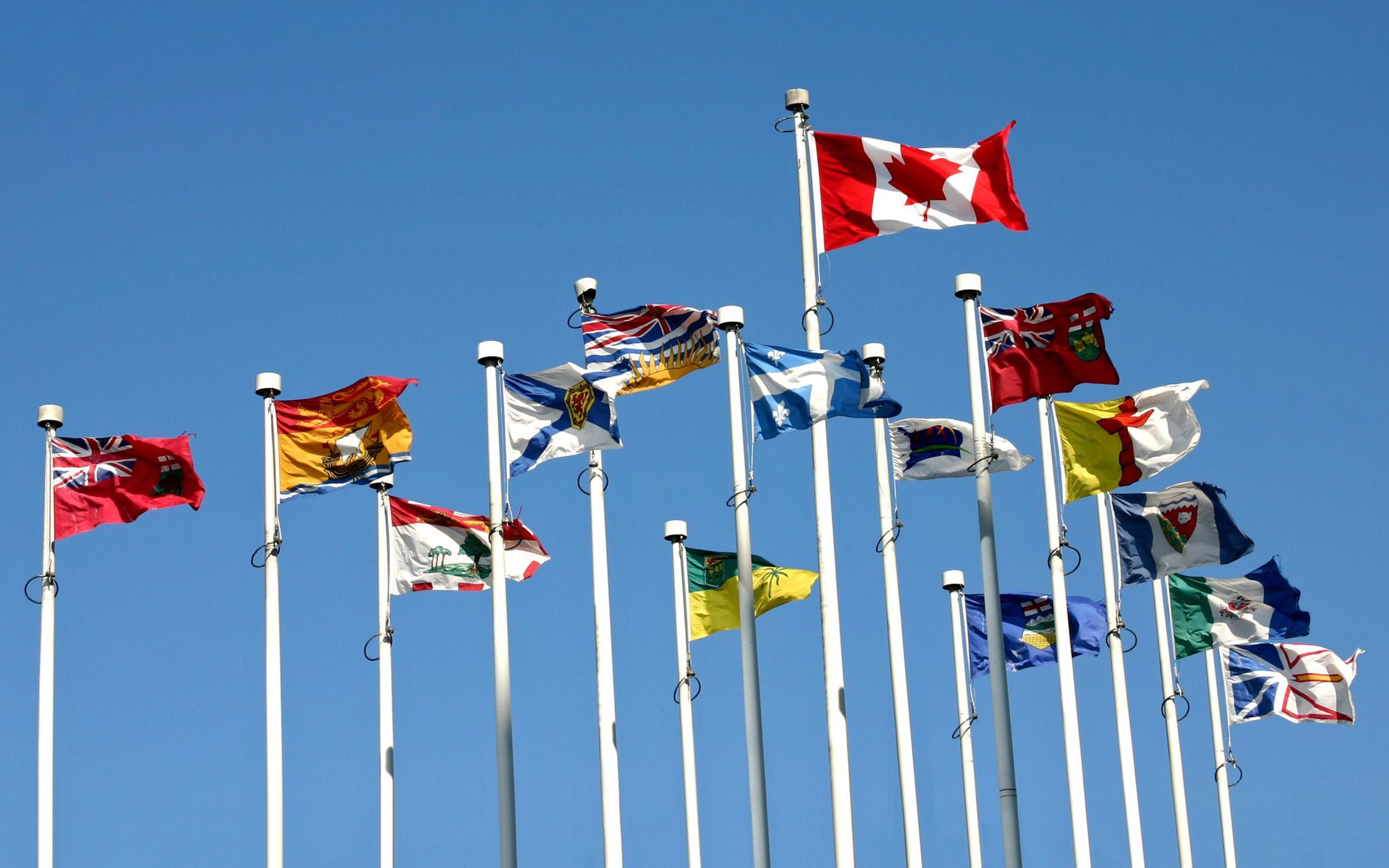 VIU Provincial Flags of Canada
