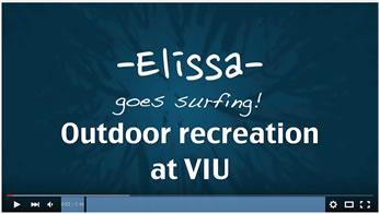Video title image - Outdoor recreation - Elissa shares her experience on a VIU surf trip to Tofino