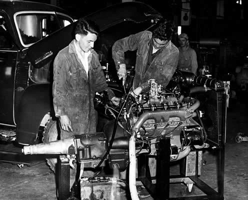 Automotive Mechanics 1950 1959 Viu History Viu Canada