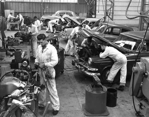 Automotive Mechanics: 1960 - 1969   VIU History ...