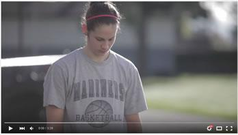 Video title image - Jenna Carver spent five years as a VIU Mariner on the Women's Basketball team and shares her experience here.